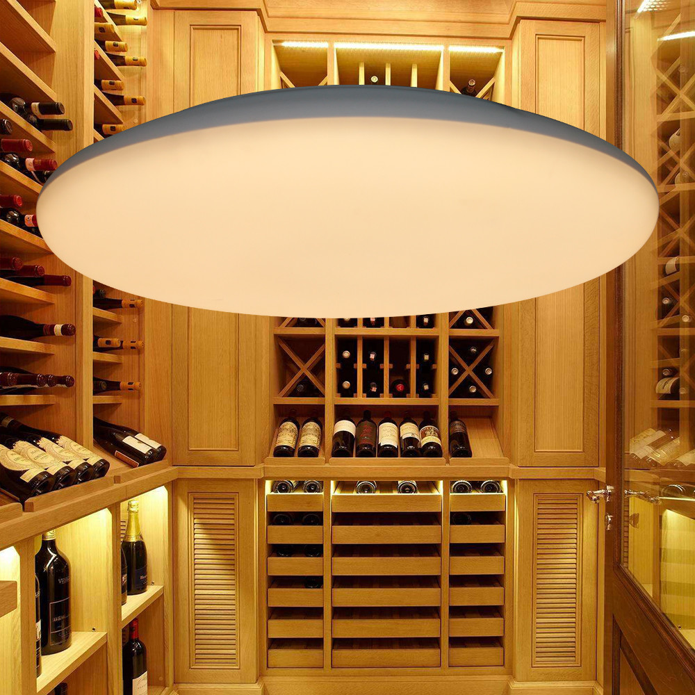 Wifi Ceiling Mounted 30cm 25cm Smart Led Oyster Light For Corridors Hallway
